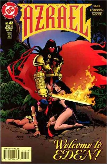 Azrael (1995) 42-A by DC