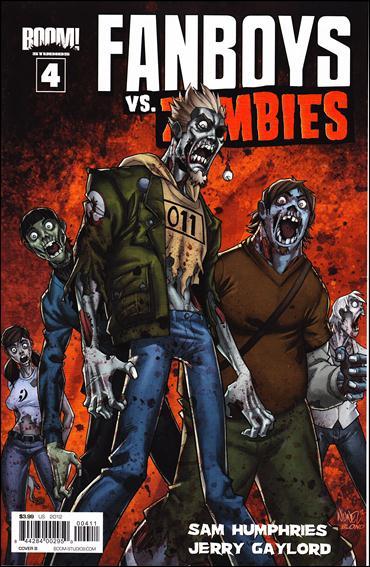 Fanboys vs Zombies 4-B by Boom! Studios