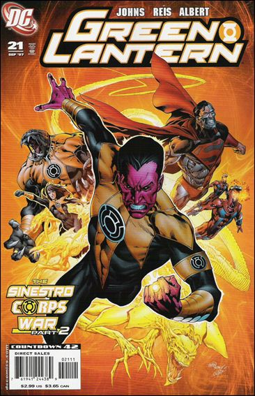 Green Lantern (2005) 21-A by DC