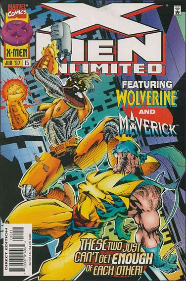 X-Men Unlimited (1993) 15-A by Marvel