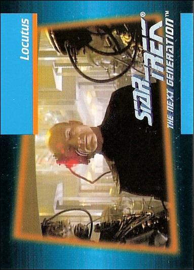 Star Trek: The Next Generation - Inaugural Edition (Base Set) 30-A by Impel