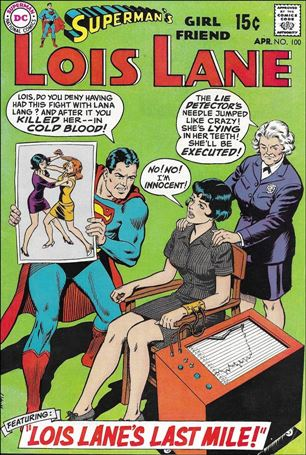 Superman's Girl Friend Lois Lane 100-A