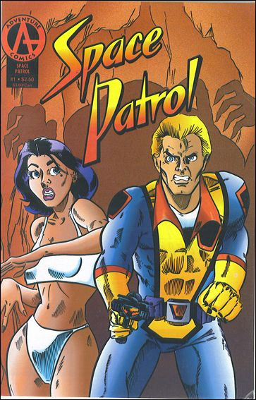 Space Patrol (1992) 1-A by Adventure