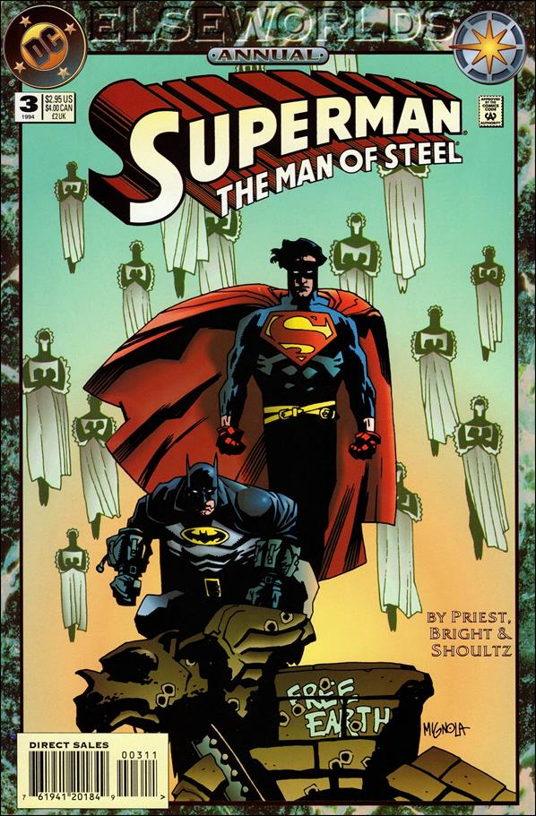 Superman: The Man of Steel Annual 3-A by DC
