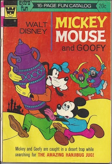 Walt Disney's Mickey Mouse 146-B by Dell