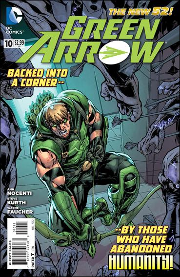 Green Arrow (2011) 10-A by DC