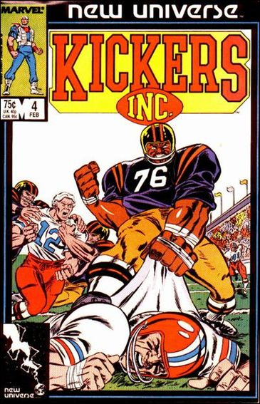 Kickers, Inc. 4-A by Marvel