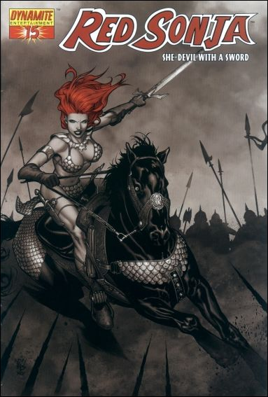 Red Sonja (2005) 15-E by Dynamite Entertainment
