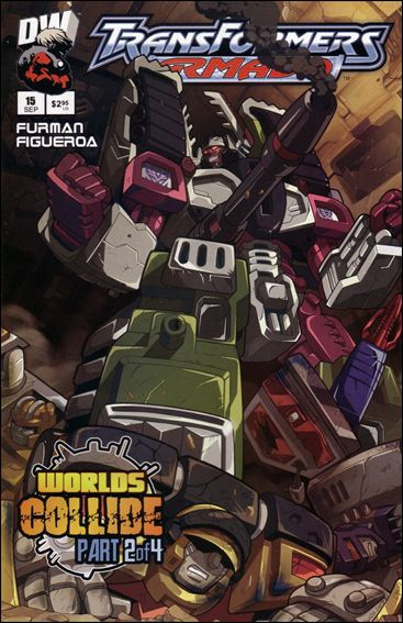 Transformers: Armada (2002) 15-A by Dreamwave