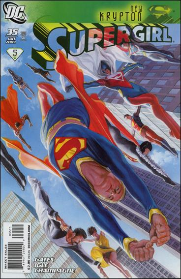Supergirl (2005) 35-A by DC