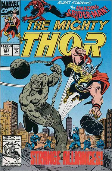 Thor (1966) 447-A by Marvel