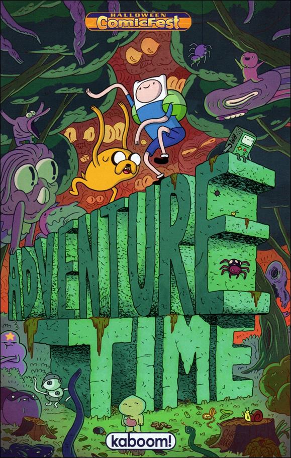 Adventure Time Halloween Ashcan 2013-A by Kaboom!