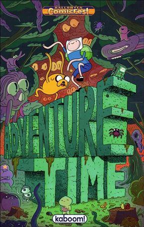 Adventure Time Halloween Ashcan 2013-A