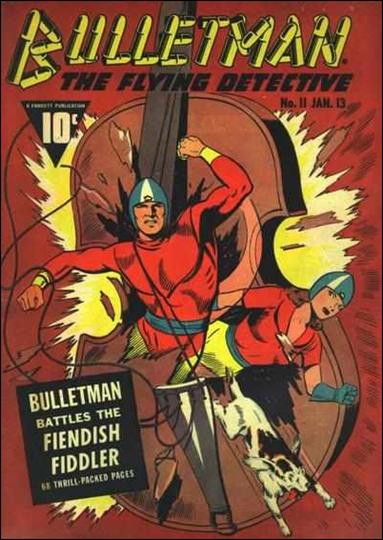 Bulletman 11-A by Fawcett