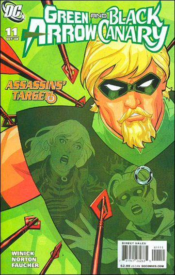 Green Arrow/Black Canary 11-A by DC