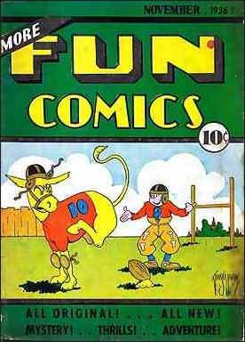 More Fun Comics 15-A by DC