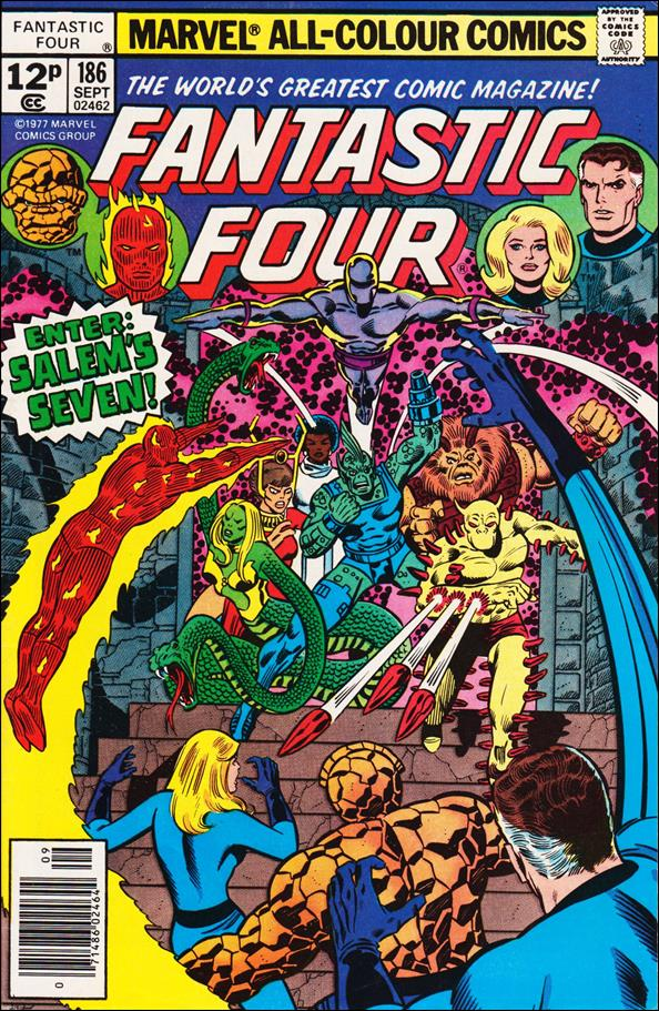 Fantastic Four (1961) 186-C by Marvel
