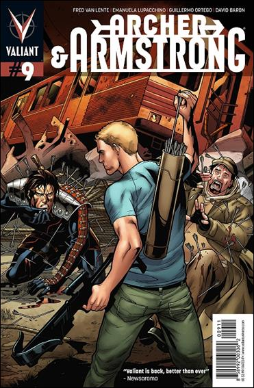 Archer & Armstrong (2012) 9-A by Valiant Entertainment