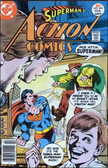 Action Comics (1938) 468-A by DC
