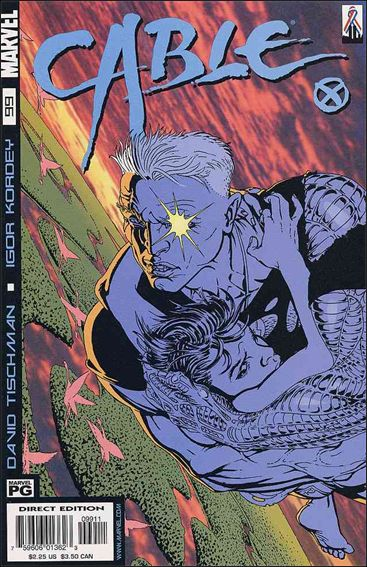 Cable (1993) 99-A by Marvel