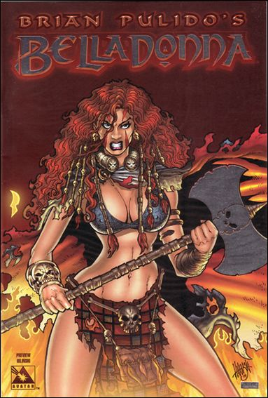 Brian Pulido's Belladonna (2004) 0-C by Avatar Press