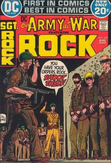 Our Army at War (1952) 248-A by DC