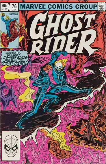 Ghost Rider (1973) 76-A by Marvel