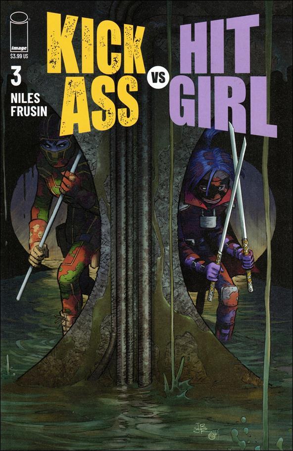 Kick-Ass vs Hit-Girl 3-A by Image