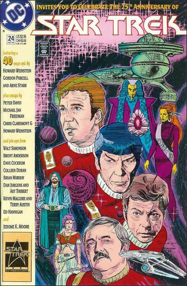 Star Trek (1989) 24-A by DC