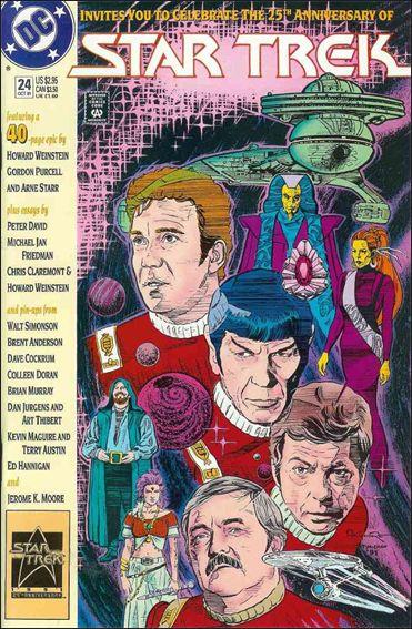Star Trek (1989) 24-A by DC