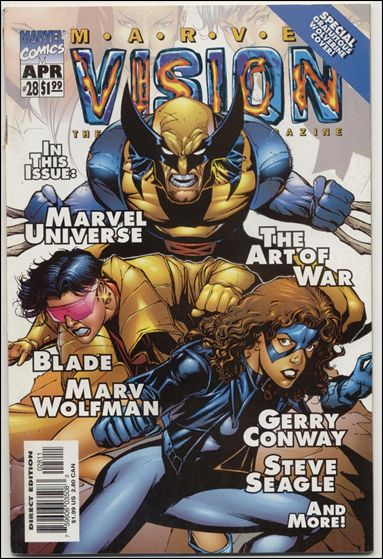 Marvel Vision 28-A by Marvel