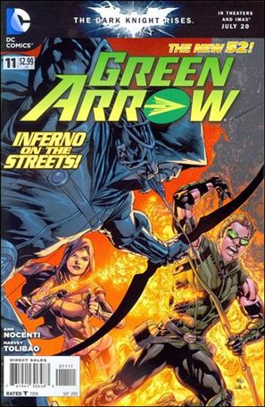 Green Arrow (2011) 11-A