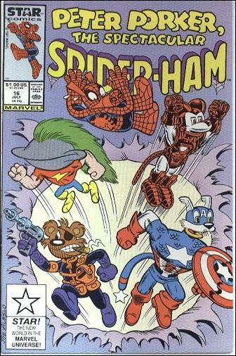Peter Porker, The Spectacular Spider-Ham 16-A by Star