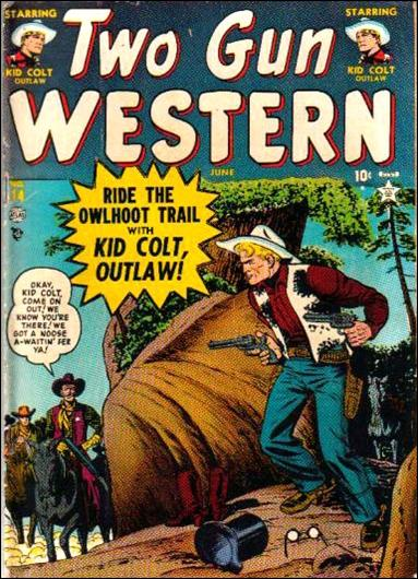 Two Gun Western 14-A by Marvel