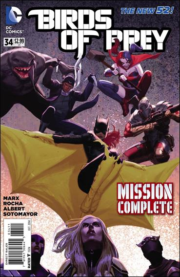 Birds Of Prey 34 A Oct 2014 Comic Book By Dc
