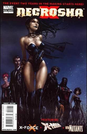 X Necrosha 1-C by Marvel