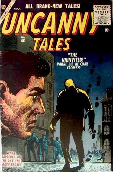 Uncanny Tales (1952) 46-A by Atlas