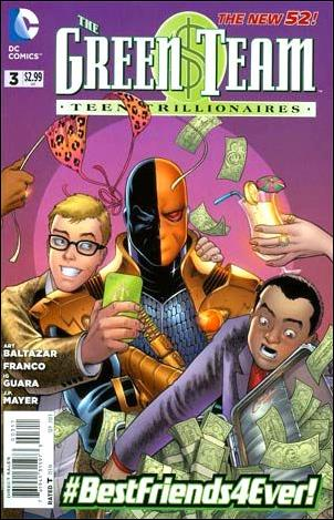 Green Team: Teen Trillionaires 3-A by DC