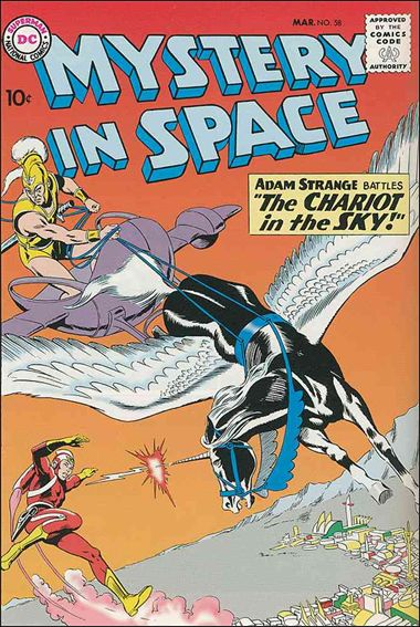 Mystery in Space (1951) 58-A by DC