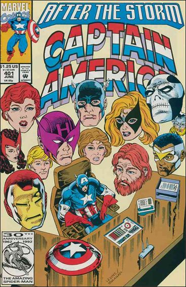 Captain America (1968) 401-A by Marvel