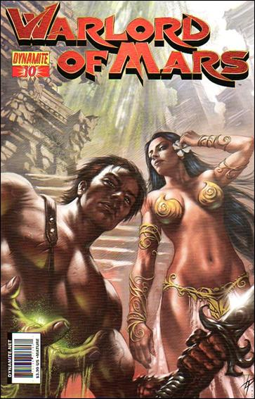 Warlord of Mars 10-C by Dynamite Entertainment