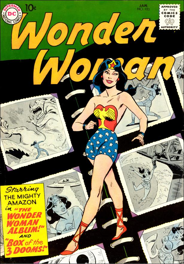 Wonder Woman (1942) 103-A by DC