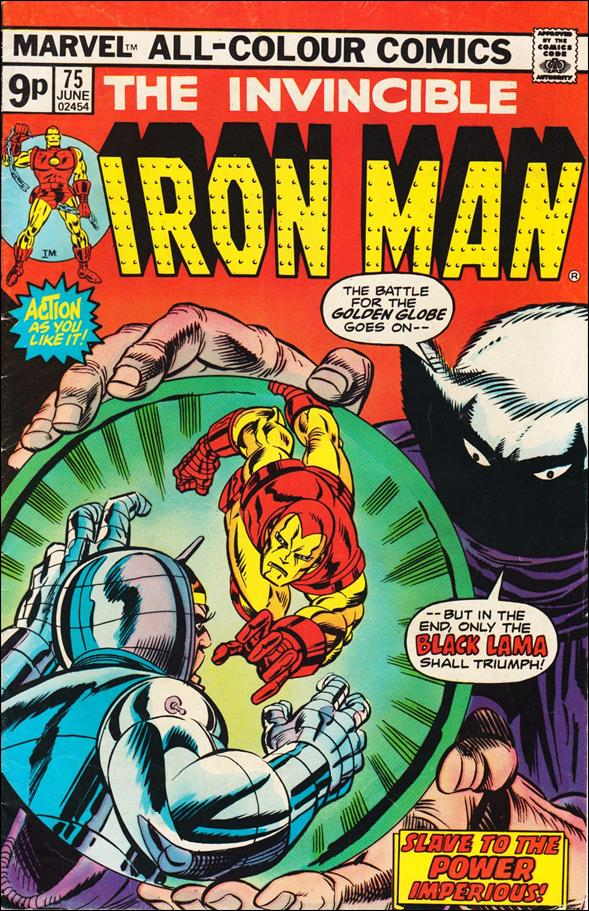 Iron Man (1968) 75-B by Marvel