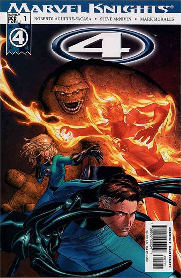 Marvel Knights 4 1-A by Marvel