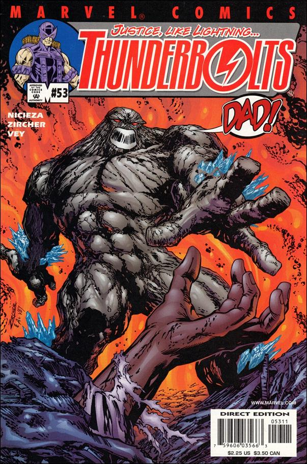 Thunderbolts (1997) 53-A by Marvel