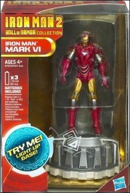 Iron Man 2 (Hall of Armor) Iron Man (Mark VI) by Hasbro