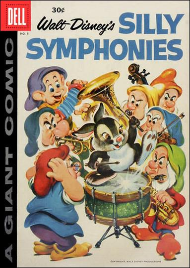 Silly Symphonies 8-A by Dell