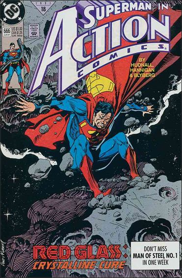 Action Comics (1938) 666-A by DC
