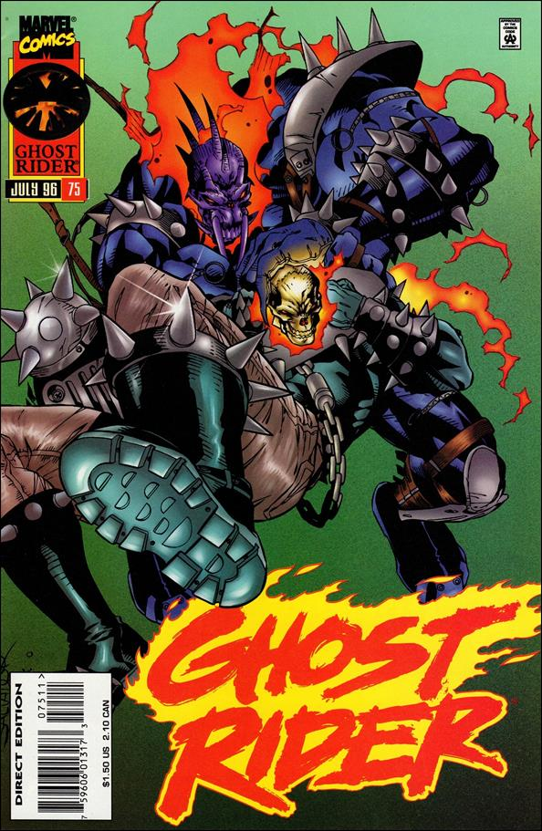 Ghost Rider (1990) 75-A by Marvel
