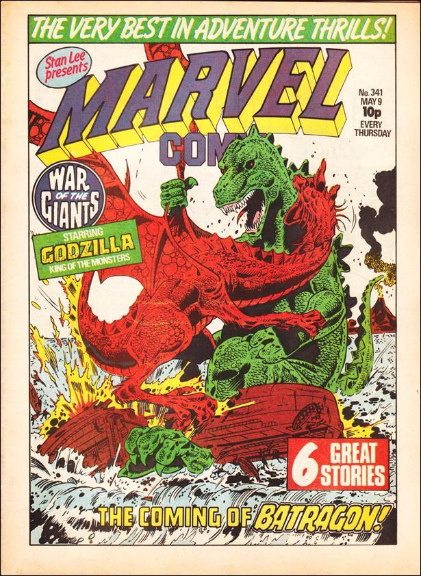 Marvel Comic (UK) 341-A by Marvel UK